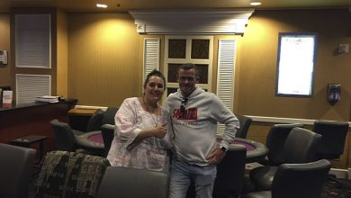 Photo of Marianne Christensen 2ér efter ICM Deal i $150 NLH Bounty