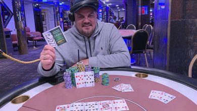 Photo of Torben T. Gøttler vinder på Casino Aalborg, 17-9-2019