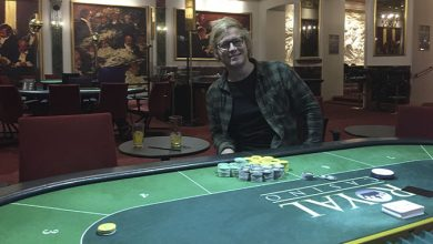 Photo of Heine Johansen vinder på Royal Casino Aarhus, 22-10-2019