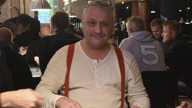 Photo of Lars Petersen vinder på Casino Munkebjerg, tirsdag 29-9-2020