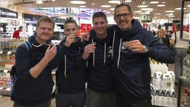 Pokernyheder - Billede af Mark Tranto, Anders Kjellerup, Tommy Krag-Nielsen og Willi Thal-Drexel