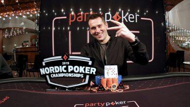 Photo of Gregorz Gosk vinder Nordic Poker Championship 2019