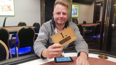 Photo of Jens Jørgensen vinder på Casino Aalborg, 21-11-2019
