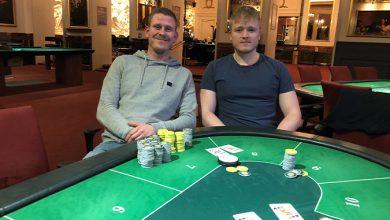 Photo of Kaspar Strand Olesen vinder på Casino Aarhus, 26-11-2019