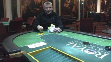 Photo of Lars Bentsen vinder på Royal Casino Aarhus, 12-11-2019