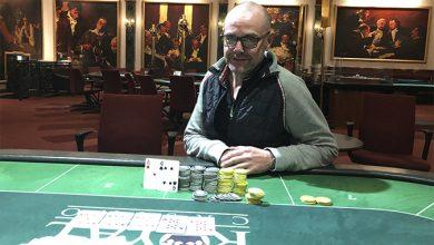 Photo of Peter G. Sørensen vinder på Casino Aarhus, 19-11-2019