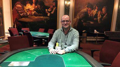 Photo of Rune Risom vinder på Royal Casino Aarhus, 28-11-2019
