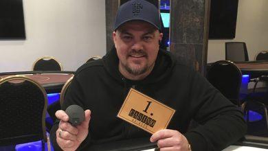 Photo of Torben Tvede Gøttler vinder på Casino Aalborg, 28-11-2019