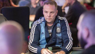 Photo of Thomas Quaade økonomisk vinder af Hot $109, $50.000GTD