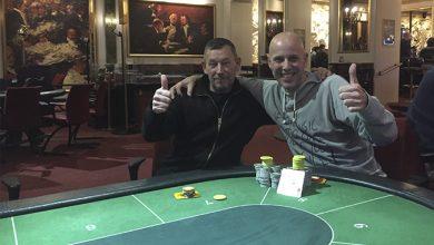Photo of John og Søren splitter heads-up på Casino Aarhus, 5-12-2019