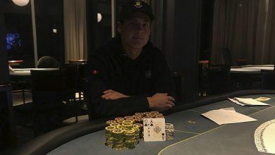 Photo of Mads Retz vinder på Casino Marienlyst, onsdag 15-1-2020