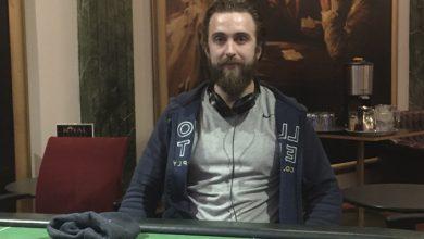 Photo of Nicolaj K. Tornbo vinder på Casino Aarhus efter ICM Deal
