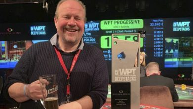 Photo of Gisle Olsen 2ér i €880 PKO WPTDeepstacks 2020 i Berlin