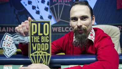 Photo of Tomasz Kozub vinder The Big Wrap PLO Main Event 2020