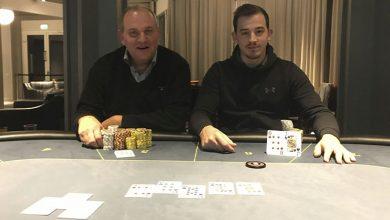 Photo of Alexander Hansen vinder på Casino Marienlyst, 6-2-2020