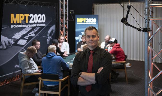 Poker News - Gambar Kasper Kvistgaard, Poker Manager, Casino Munkebjerg in Vejle