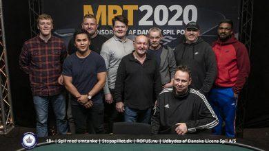 Finalebordet - Danske Spil Poker, DSMPT 2020