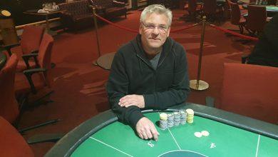 Photo of Niels Pedersen vinder på Royal Casino Aarhus, 11-2-2020