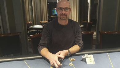 Photo of Thomas Scheibel vinder på Casino Marienlyst, 14-2-2020
