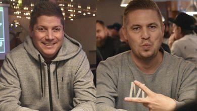 Pokernyheder - Billede af Tommy Krag-Nielsen og Anders Kjellerup