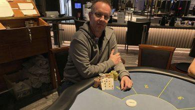 Photo of Ken Graversen vinder på Casino Marienlyst, 11-3-2020