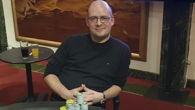Photo of Rune Risom vinder på Casino Munkebjerg, torsdag 24-9-2020