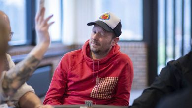 Photo of Morten Hougaard 2ér i $530 Bounty Builder $150.000GTD