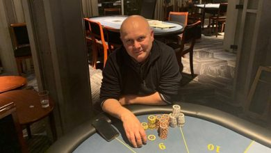 Photo of Anders Lau er langt foran på Casino Marienlyst Ranglisten