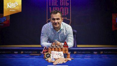 Photo of Dan Bitsch vinder €550 The Big Wrap Warm-up PLO 2020