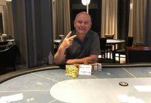 Photo of Anders Lau vinder på Casino Marienlyst, fredag 7-8-2020