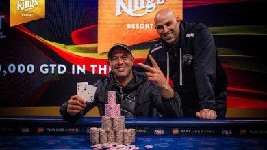 Photo of Ali Boulacel vinder German Poker Tour, Summer Edition