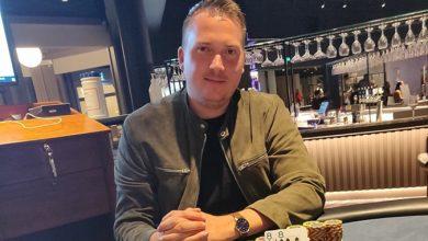 Photo of Martin Sørensen vinder på Casino Marienlyst, 22-8-2020