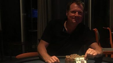 Photo of Morten Hansen vinder på Casino Marienlyst, 21-8-2020
