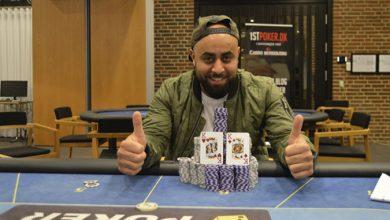 Photo of Ramy Zeraiq vinder på Casino Munkebjerg, søndag 6-9-2020