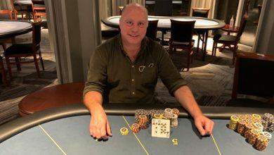 Photo of Keld Volquardsen vinder på Casino Marienlyst, 9-10-2020
