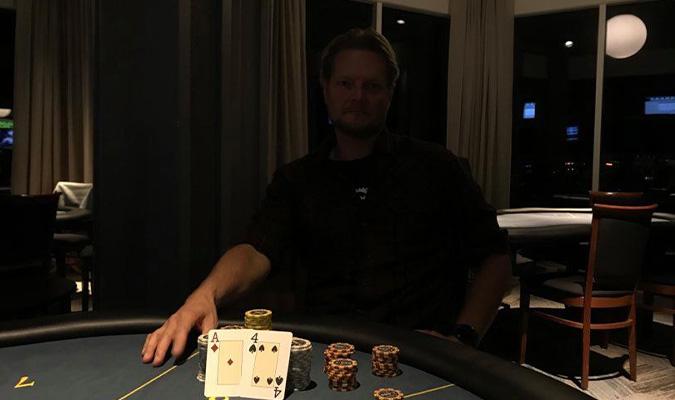 Photo of Lars Rugholm vinder på Casino Marienlyst, fredag 23-10-2020