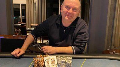 Photo of Anders Lau vinder på Casino Marienlyst, lørdag 24-10-2020