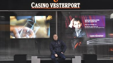 Indgangen til Casino Vesterport, med Marketing Manager Ricky Møller