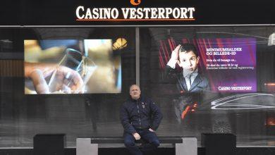 Indgangen til Casino Vesterport, med Marketing Manager Ricky Møller