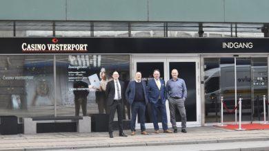 Billede af Lars Mikkelsen, Ricky Møller, Erik Jensen og Thomas Kellner, Casino Vesterport