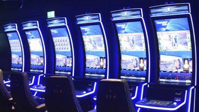 Billede af spillemaskiner fra Casino Vesterport 2020