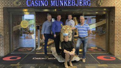 30års jubilæum Casino Munkebjerg i Vejle - Wagner, Henrik, Madsen, Benny, Tine og Jens the Tiger