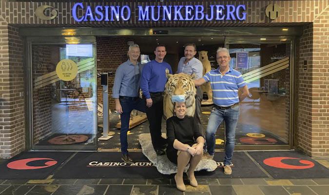 30th anniversary Casino Munkebjerg di Vejle - Wagner, Henrik, Madsen, Benny, Tine dan Jens the Tiger