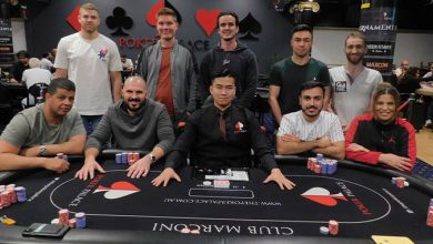 High Roller Finalebord - Foto: pokerpalace.com