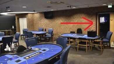 Billede af den nye pokerkælder på Casino Munkebjerg i Vejle