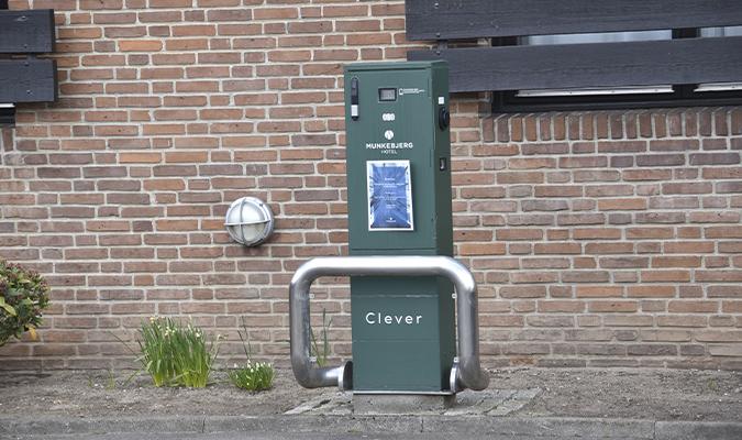 Clever ladestation, Munkebjerg Hotel, Casino Munkebjerg, 1stpoker, Pokernyheder,