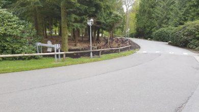 Artikel foto: Indkørslen til Munkebjerg Hotel og Casino Munkebjerg