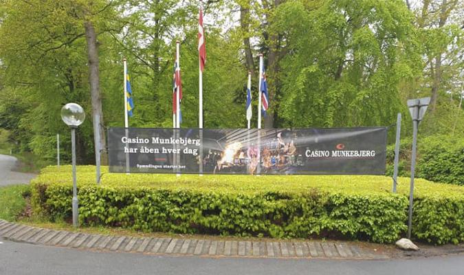 Jalan masuk ke Munkebjerg, Casino Munkebjerg, Poker News, Live Poker