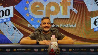 Vinderen af European Poker Festival 2021, Kings Resort, Kings Casino, Live Poker, Live Stream, Pokernyheder,