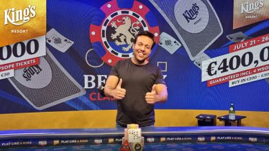 Ömür Pehlivan, Benelux Classics Main Event - Winner, Poker, Live Poker, Live Stream, Pokernyheder